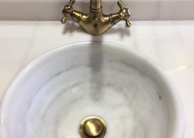 Lavabo sin agua