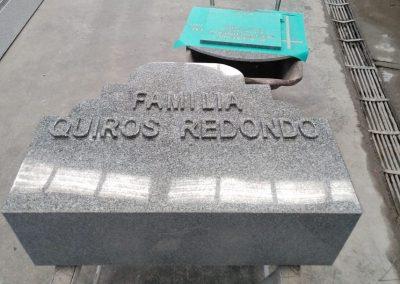 Frente de Lápida