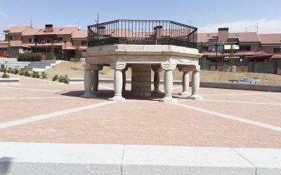 """Monumento """"El Templete"""" de Navas del Marqués año 1959"""