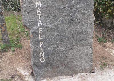 Piedra Grabada a mano